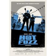 Hot Fuzz ScreenPrint by Matt Ferguson