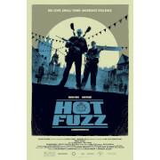 Hot Fuzz Variant ScreenPrint by Matt Ferguson