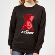 Black Widow Close Up Women's Sweatshirt - Black