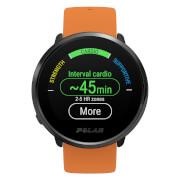 Polar Ignite GPS Sports Watch - M-L - Orange/Black