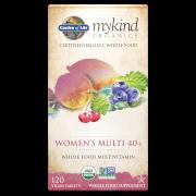 mykind Organics Women's 40 Multi - 120 Tablets