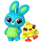 Lot de 2 figurines Cosbaby Ducky and Bunny Toy Story 4 - Taille S - Hot Toys