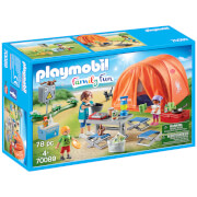 Playmobil Family Fun Camping Trip With Large Tent (70089)