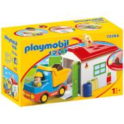 Playmobil 1.2.3 Garbage Truck (70184)