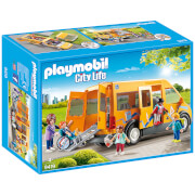 Playmobil City Life School Van With Folding Ramp (9419)