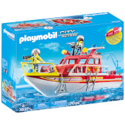 Playmobil City Action Fire Rescue Boat (70147)