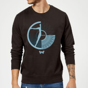 Westworld Hello, I'm Aeden Sweatshirt - Black