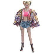 Hot Toys DC Comics Birds of Prey Movie Masterpiece Action Figure 1/6 Harley Quinn (Caution Tape Jacket Version) 29 cm