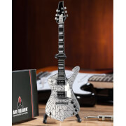 Axe Heaven KISS Paul Stanley Cracked Mirror Iceman Miniature Guitar Replica