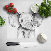 Cute Elephant Chopping Board