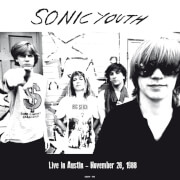 Sonic Youth - Live In Austin - November 26 1988 (Orange Vinyl)