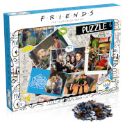 1000 Piece Jigsaw Puzzle – Friends Scrapbook Edition