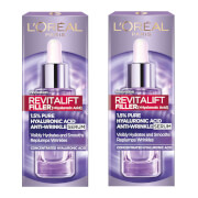 Купить L'Oréal Paris Exclusive Revitalift Filler with 1.5% Hyaluronic Acid Anti-Wrinkle Dropper Serum Duo 2 x 30ml