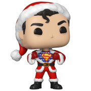 DC Comics Holiday Superman with Sweater Pop! Vinyl Figure