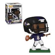 Figurine Pop! Lamar Jackson - NFL Baltimore Ravens