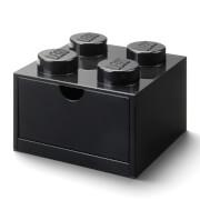 LEGO Storage Desk Drawer 4 - Black
