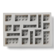 LEGO Ice Cube Tray - Grey