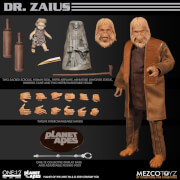 Mezco One: 12 Collective Planet of the Apes (1968): Dr. Zaius Action Figure 16cm