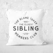 The Eldest Sibling The Blame Taker Square Cushion