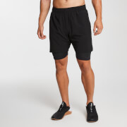 MP Herren Essentials 2-in-1 Training Shorts - Schwarz