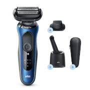 Braun Series 6 Electric Shaver - Blue - Smart Care Centre