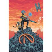 Poster Fine Art 'Maya' Borderlands - 40x60cm