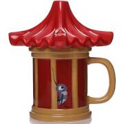 Mulan Shaped Cri Kee Mug