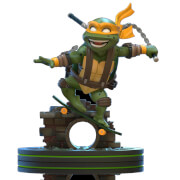 Quantum Mechanix Teenage Mutant Ninja Turtles Michelangelo Q-Fig