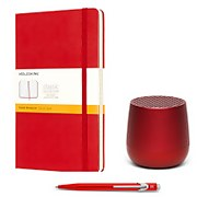 Moleskine Essential Home Working Kit - Red