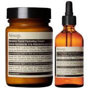 Купить Aesop Mandarin Facial Cream and Lightweight Serum Duo