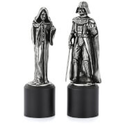 Royal Selagnor Star Wars Zinn Schachfiguren - Darth Vader & Sidious (König/ Königin)