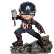 Figurine en PVC Iron Studios Avengers Endgame Mini Co. Captain America 15 cm
