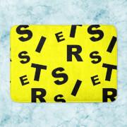 Sister Pattern Bath Mat