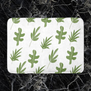 Multi Leaves Bath Mat