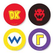 Nintendo Super Mario Circular Characters Coaster Set