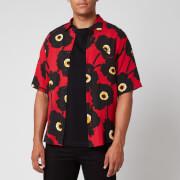 AMI Men's Short Sleeve Shirt - Multi - XL