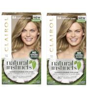 Clairol Natural Instincts Semi-Permanent No Ammonia Vegan Hair Dye Duo (Various Shades) - 8A Medium Cool Blonde фото