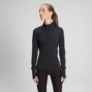 Haut à manches longues et zip ¼ Power Ultra – Noir - XS