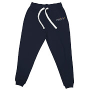 DC Birds of Prey Boobytrap Embroidered Unisex Joggers - Navy