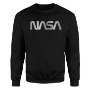 NASA Logo Unisex Sweatshirt - Black