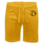 Borderlands Embroidered Unisex Jogger Shorts - Yellow