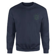 Rick and Morty Rick Embroidered Unisex Sweatshirt - Navy