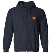 Veste à capuche DC Superman - Bleu Marine - Unisexe