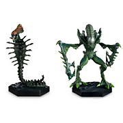 Eaglemoss Figure Collection - Alien Retro Snake & Mantis Figurine Set (2 Pack)