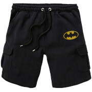 DC Batman Unisex Cargo Shorts - Black