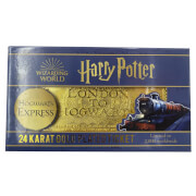 Réplique Ticket Poudlard Express Harry Potter Plaqué Or 24k - Zavvi Exclusif