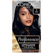 L'Oréal Paris Préférence Infinia Hair Dye (Various Shades) - 1 Napoli Black
