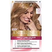 L'Oréal Paris Excellence Crème Permanent Hair Dye (Various Shades) - 7.3 Natural Dark Golden Blonde фото