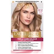 L'Oréal Paris Excellence Crème Permanent Hair Dye (Various Shades) - 8.12 Natural Frosted Beige Blonde фото