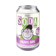 Hanna Barbara Grape Ape Vinyl Soda Figure in Collector Can